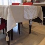 ダイニングテーブルのクロス