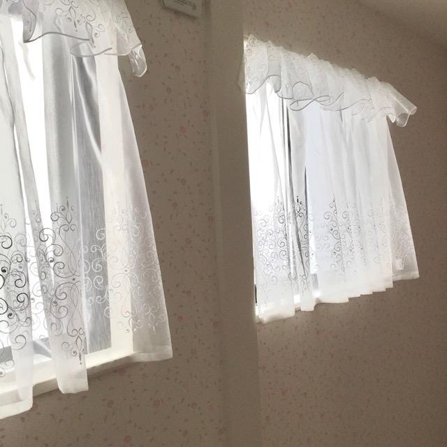 2連窓カーテン