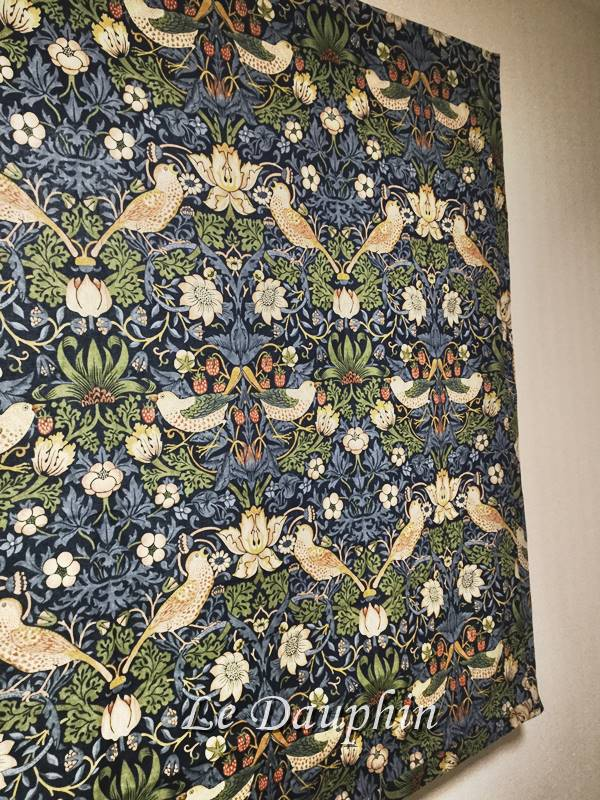 ▲ウィリアムモリスのカーテン