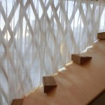 三角形のカーテン