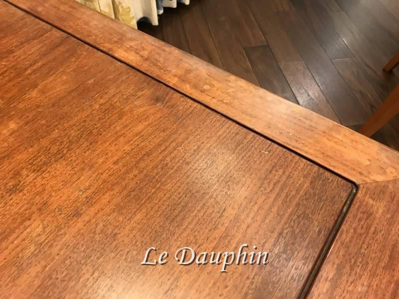▲座卓家具の塗り替え前の状態