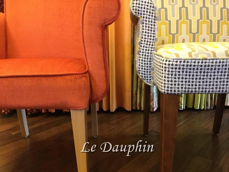 ▲座面の高さを変えたオーダー椅子