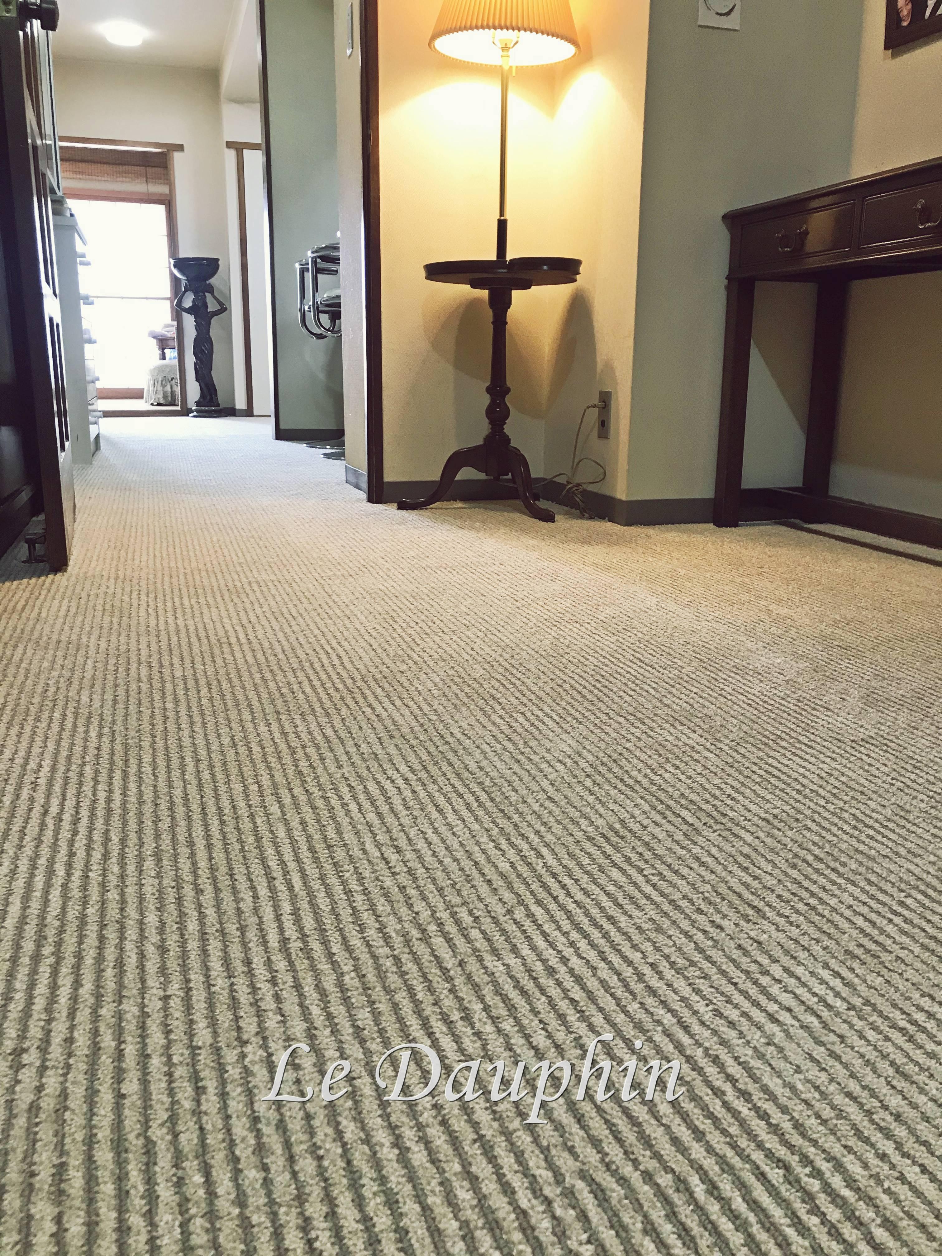 ▲カーペット張替え完成の様子