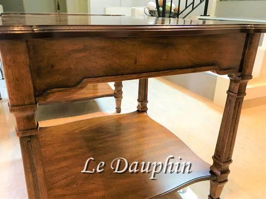 ▲ドレクセルテーブル 側面装飾パーツ再生