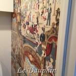 ▲Cole&SonのOperaで貼ったトイレの壁